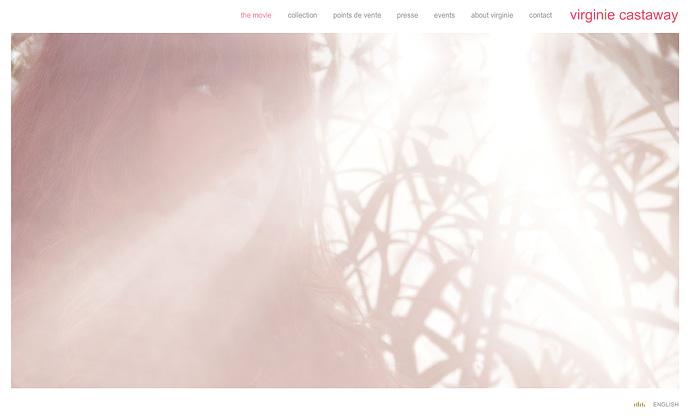 virginie castaway homepage