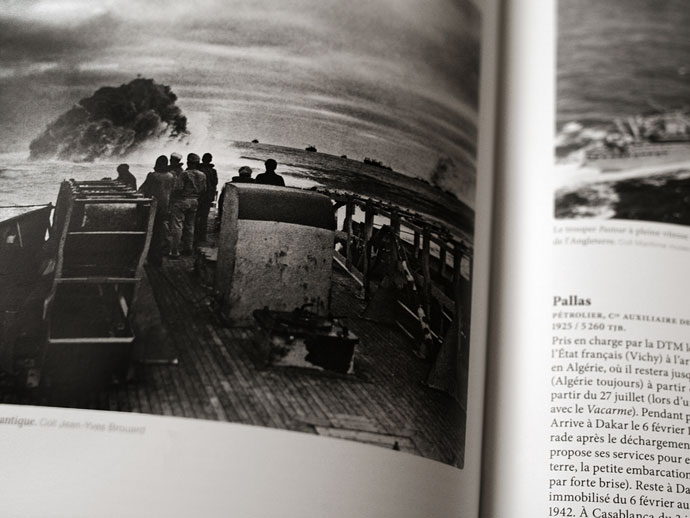 """Livre """"La marine marchande"""" - Page intérieure"""