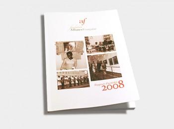 Rapport annuel 2008 de la Fondation Alliance française