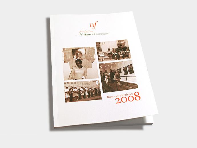 Rapport annuel 2008: couverture