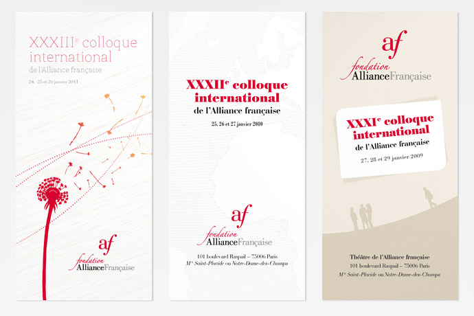 Programme du colloque 2009, 2010, 2011
