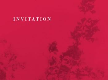 Invitation pour une soirée de gala