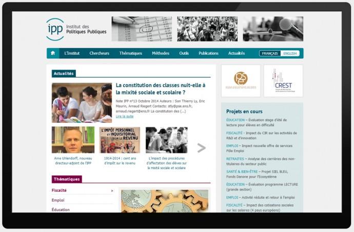 Capture d'écran du site IPP.eu