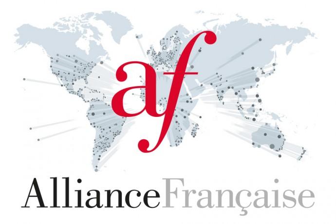 Drapeau des Alliances françaises