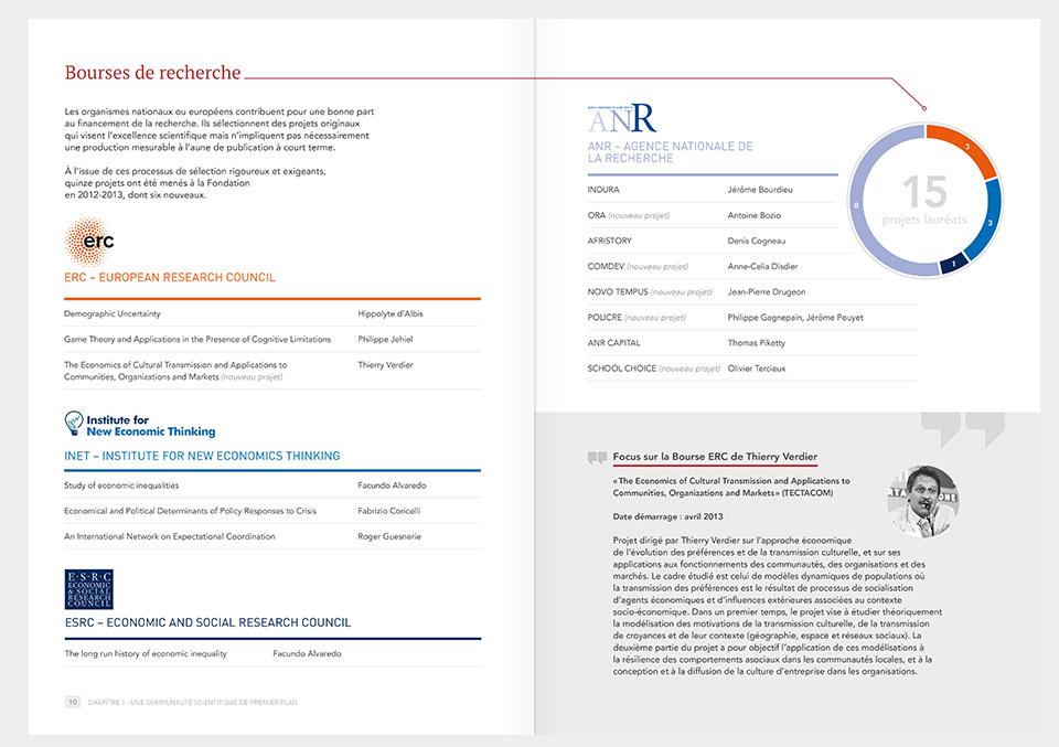 Rapport annuel PSE 2012-2013, page intérieure
