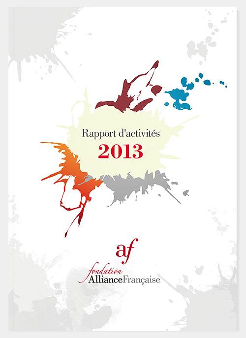 Rapport annuel 2013, couverture