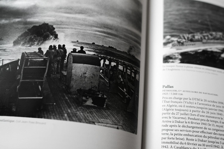 Livre Marine Marchande, page intérieure